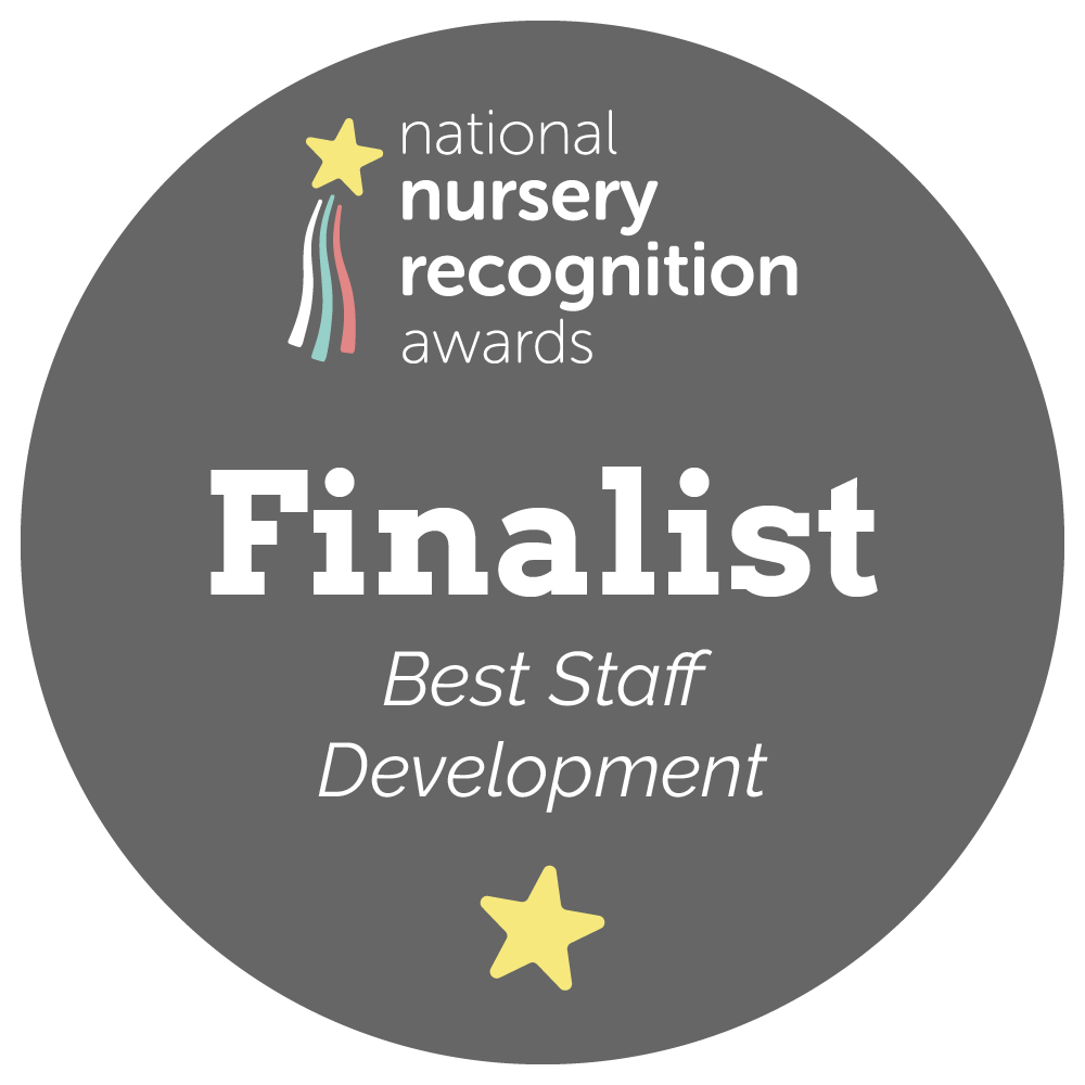 National Nursery Recognition Awards Nomination badge for Best Staff Development